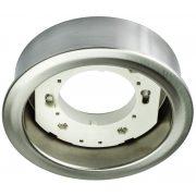 LANDLITE DL-19-GX53 220-240V mat chrome, surface-mounted downlight