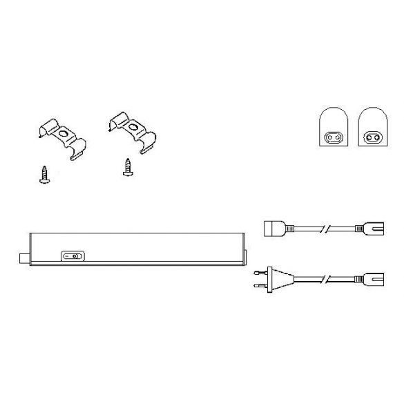 LANDLITE LED-BLN-573mm-8W, 4000K,  LED  Cabinet Light