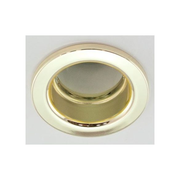 LANDLITE DL-610, 1X230V R50 E14 max 40W, fix design, single downlight lamp, brass