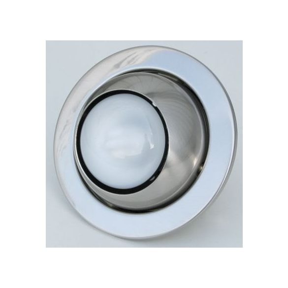 LANDLITE DL-710, 1X230V R50 E14 max 40W, rotateable design, single downlight lamp, brass