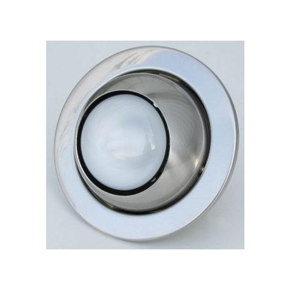 LANDLITE DL-710, 1X230V R50 E14 max 40W, tilt, single downlight lamp, mat chrome