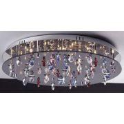 LANDLITE CASINO, MX2226/R-26, 26X10W G4 12V halogen,crystal lamp