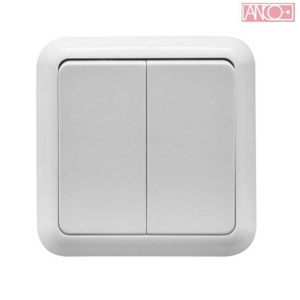 ANCO Porto flush mounted serial switch, IP44