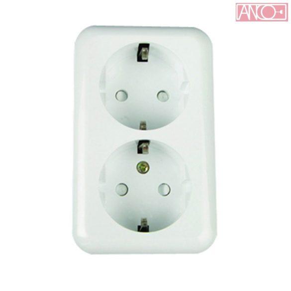 ANCO Austin double grounding socket