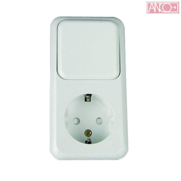 ANCO Austin socket + change-over switch