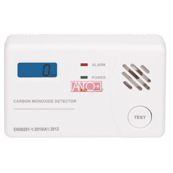 ANCO CO detector with LCD display