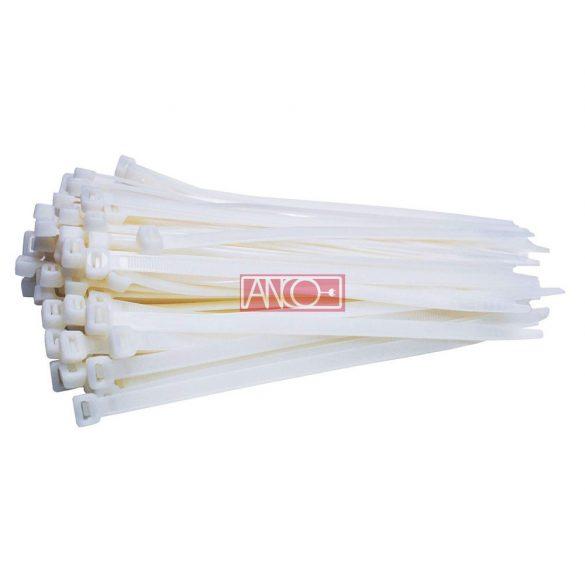 ANCO Kábelkötegelő 4.7mmx 300mm, fehér