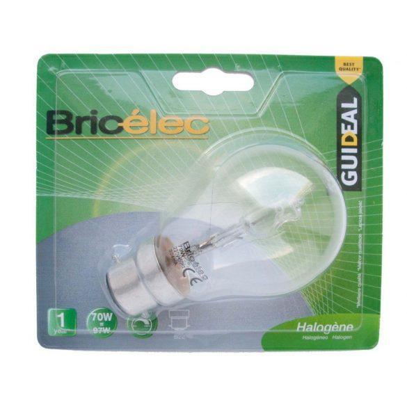 LANDLITE Bricélec Halogen, B22, 40W, A55, 599lm, 2900K, bayonet lock bulb (HSL-A55-40W)